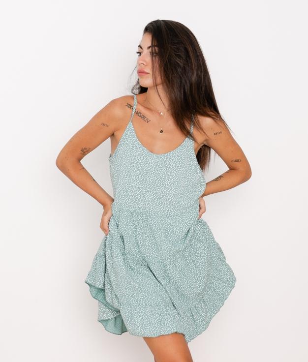 Vestido Marga - Aguamarina