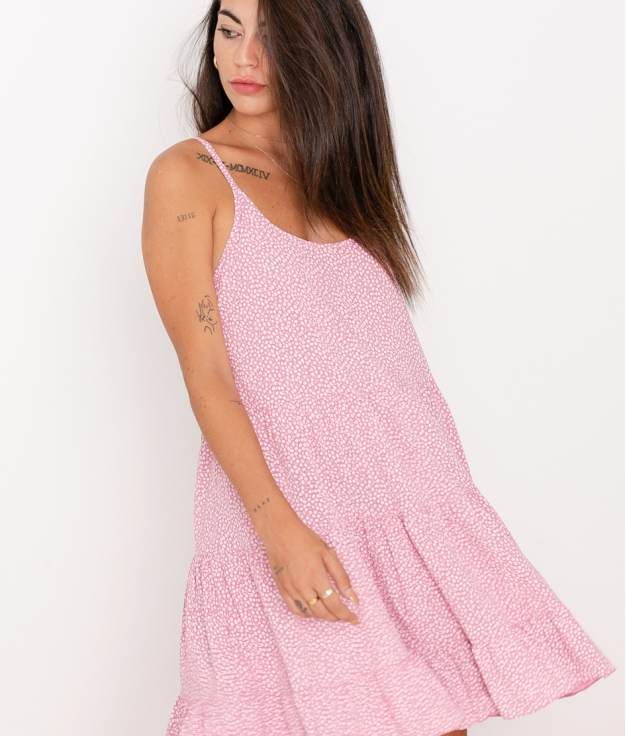 Vestido Marga - Rosa
