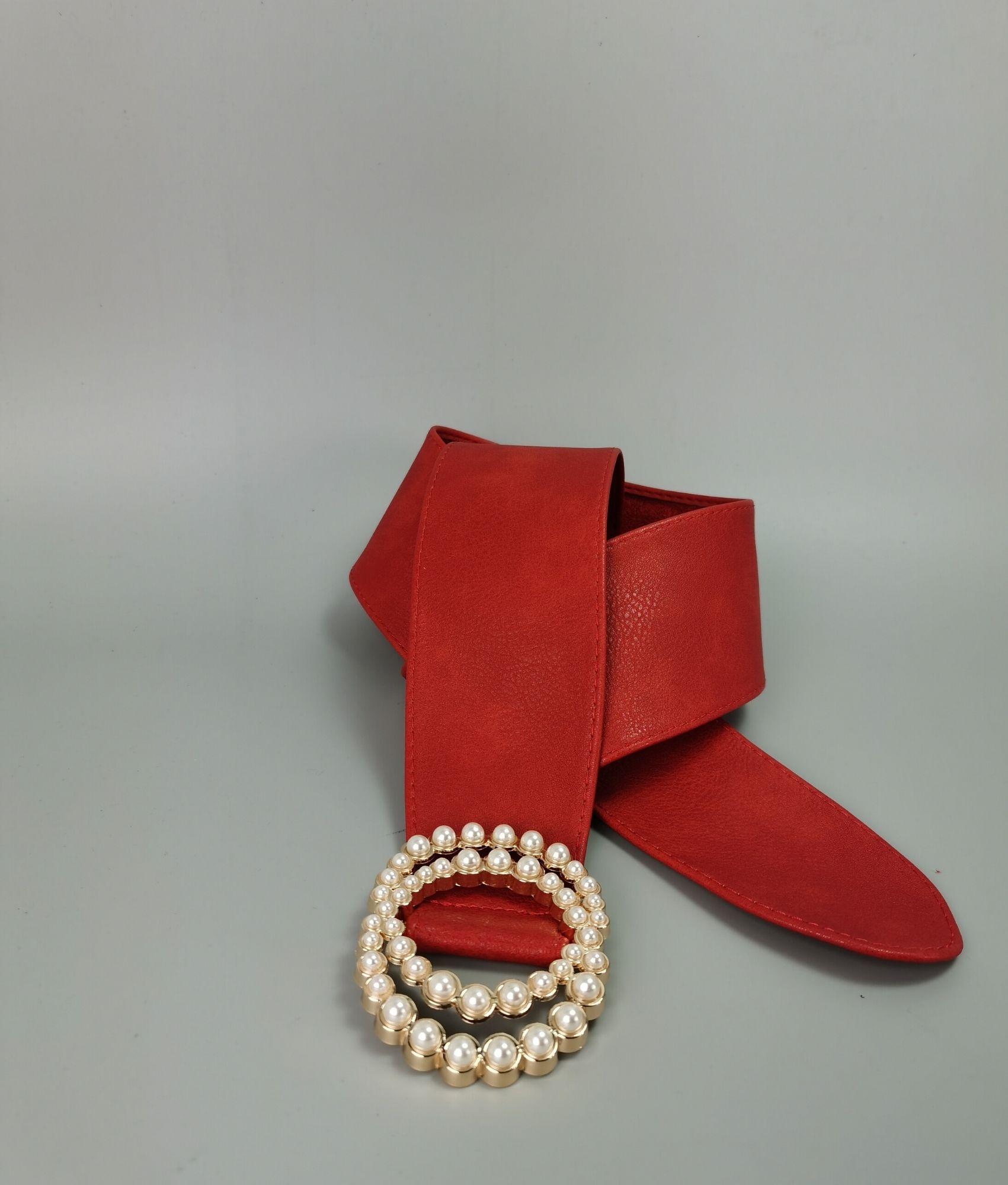 Cinto Chanel - Vermelho