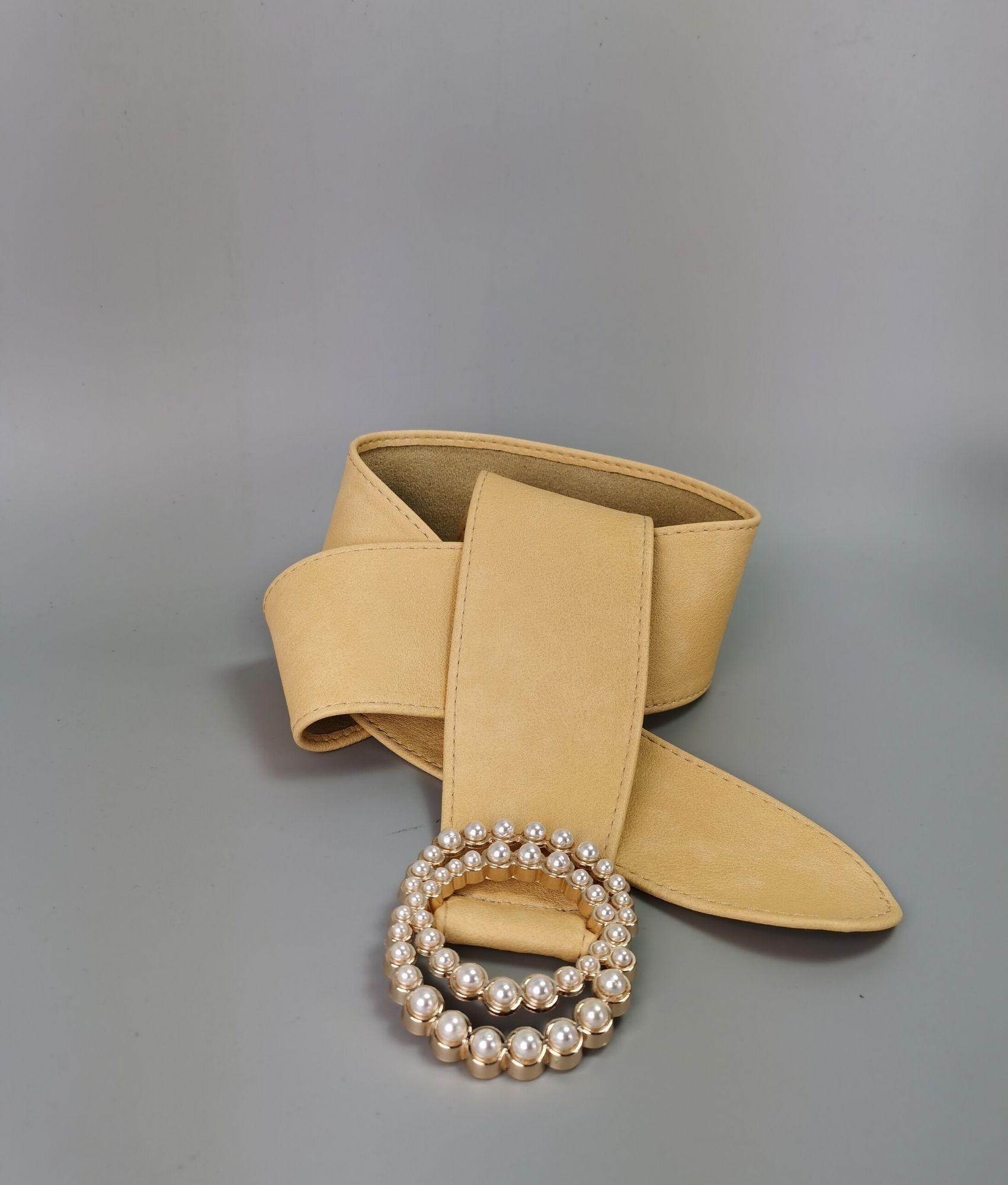 Cintura Chanel - Giallo