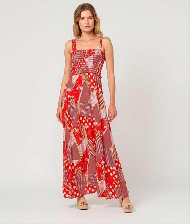 Vestido Klas - Rosso