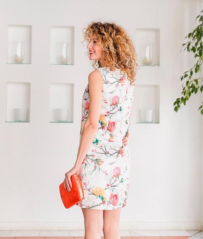Dress Samán - White