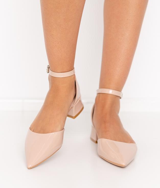 Zapato de Tacón Libian - Nude