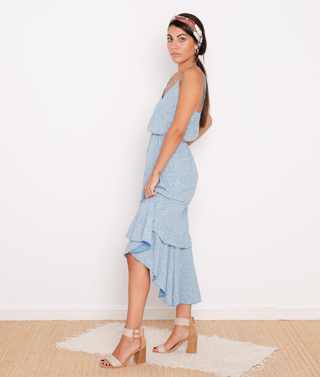 Vestido Violet - Azul
