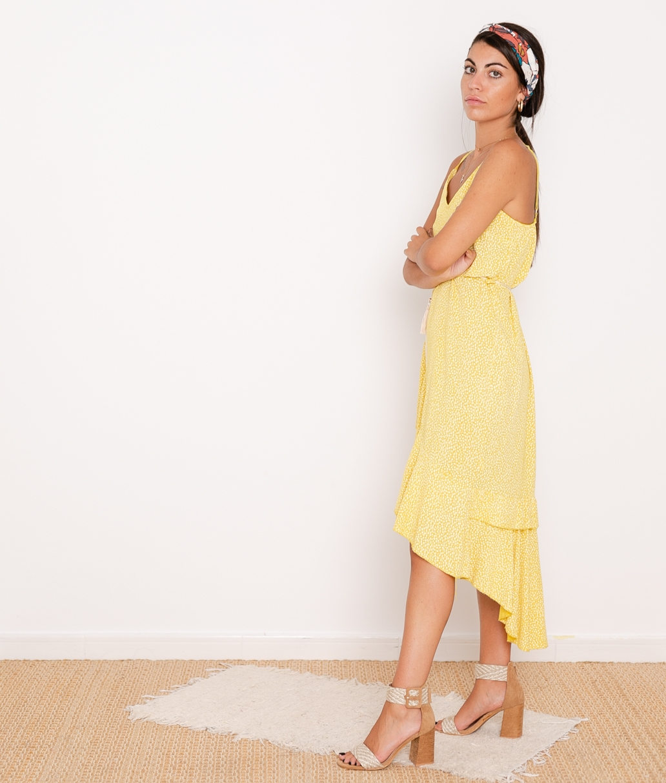 Vestido Violet - Amarillo