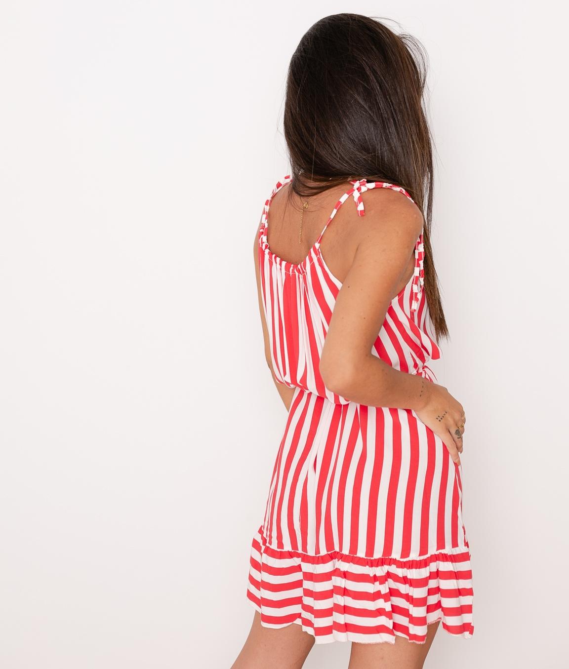Vestido Brady - Rojo