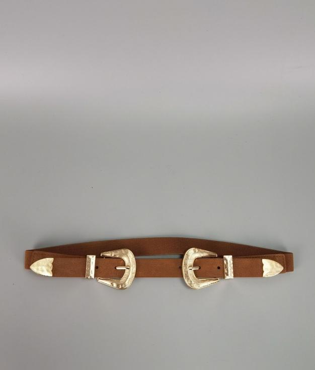 Cinturón Beta - marron