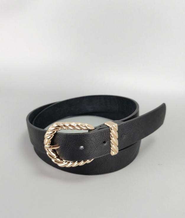 Cinturón Chiara - negro