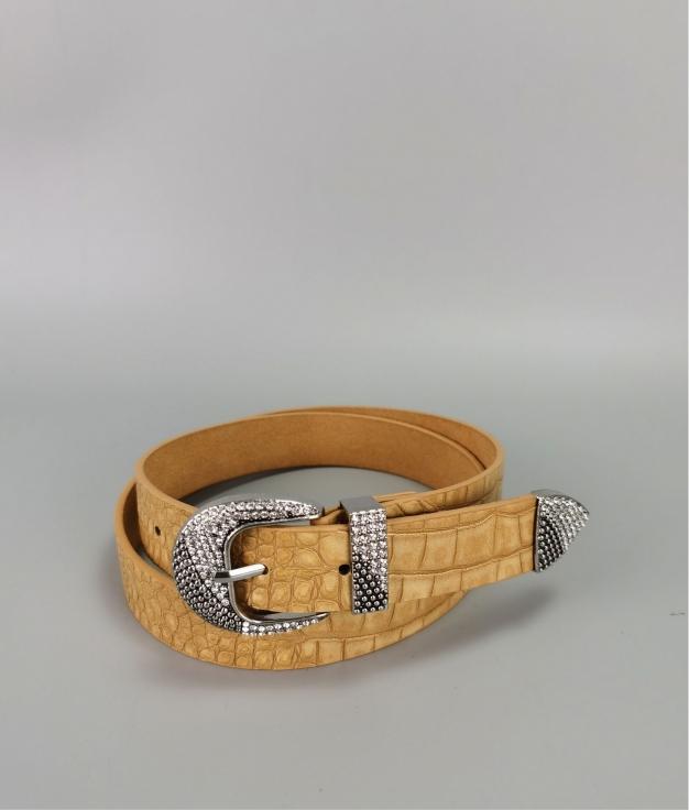 Cinturón Laura - amarillo