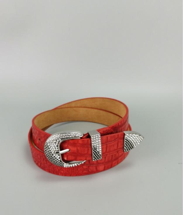 Cinturón Laura - rojo