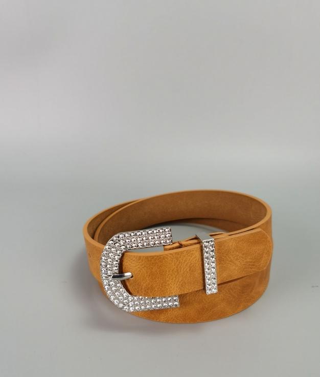 Cinturón Lucia - mostaza