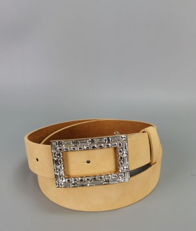 Cinturón Sara - amarillo