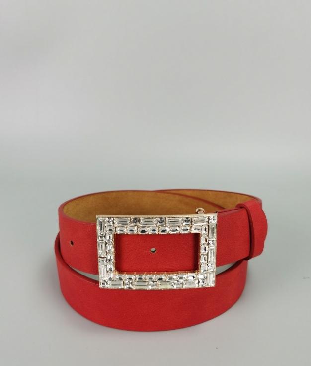 Cinturón Sara - rojo