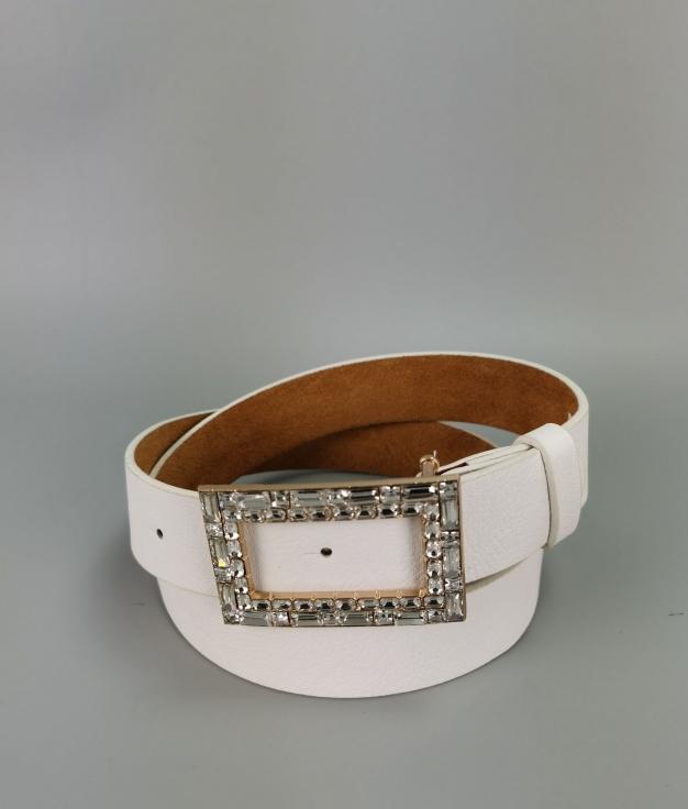 Cinturón Sara - blanco