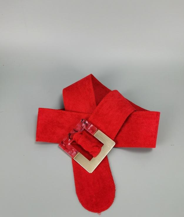 Cinturón Marphil - rojo