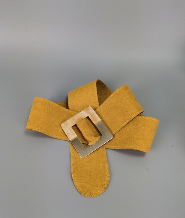 Cinturón Marphil - amarelo