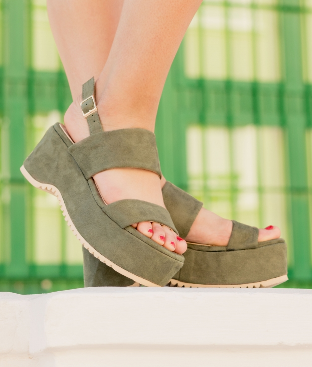 Sandale Naser - Vert