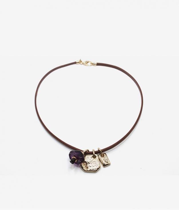 Gargantilla Lemur - Oro