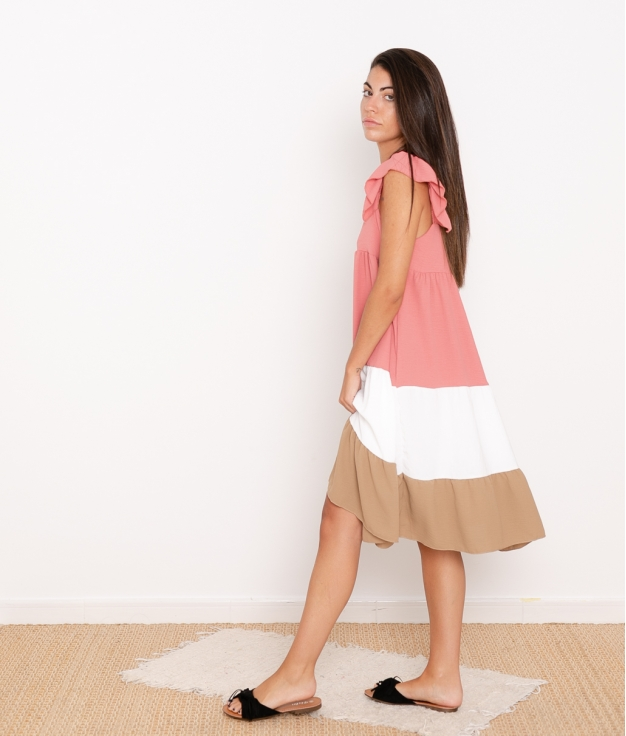 Vestido Tula - Rosa