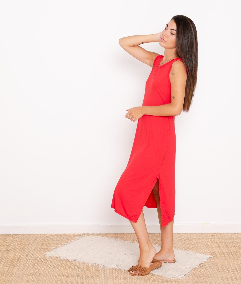 Vestido Ela - Rojo