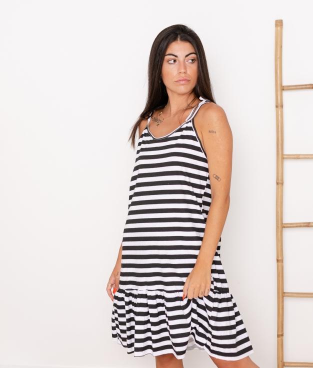 Vestido Mar - Negro
