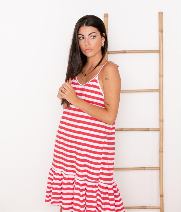 Vestido Mar - Rojo