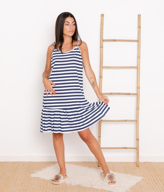 Vestido Mar - Azul Marino