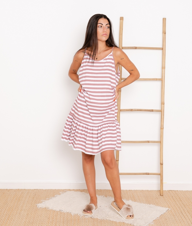Vestido Mar - Rosa