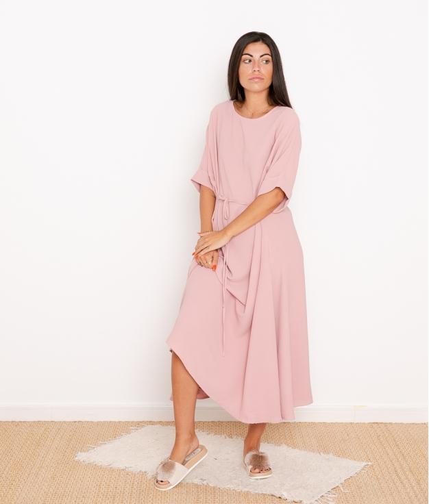Vestido Kalai - Rosa
