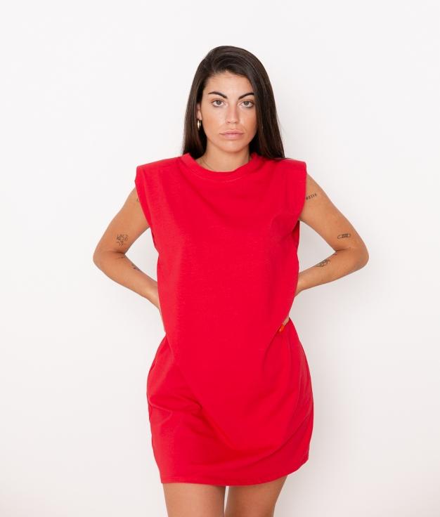 Vestido Dimas - Rojo