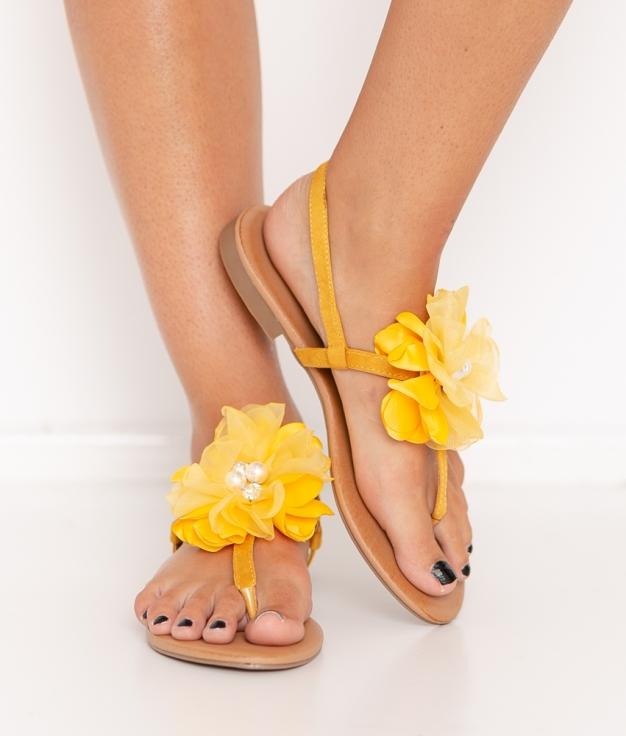 Sandal Vestre - yellow