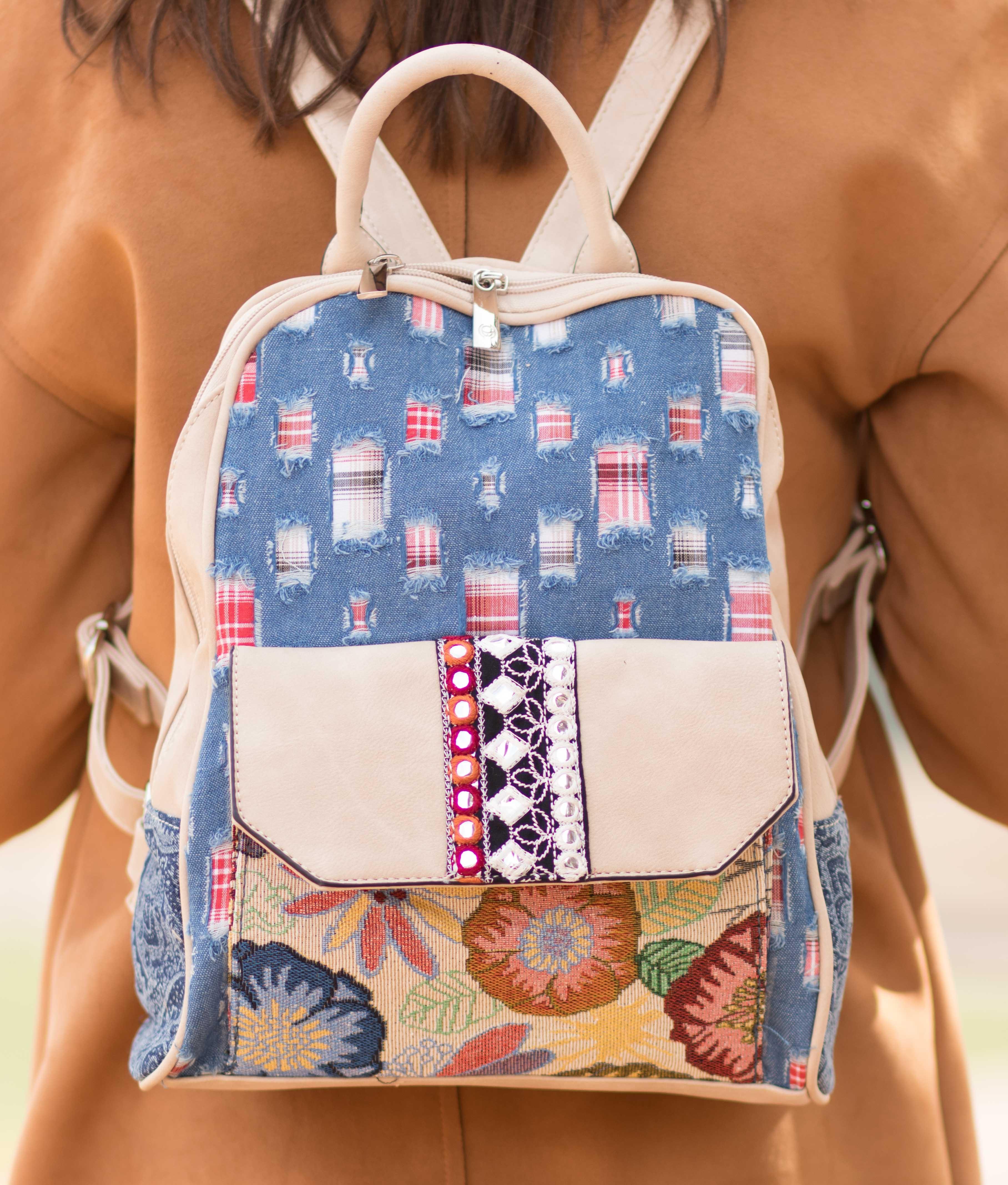 Backpack Topanga - Beige