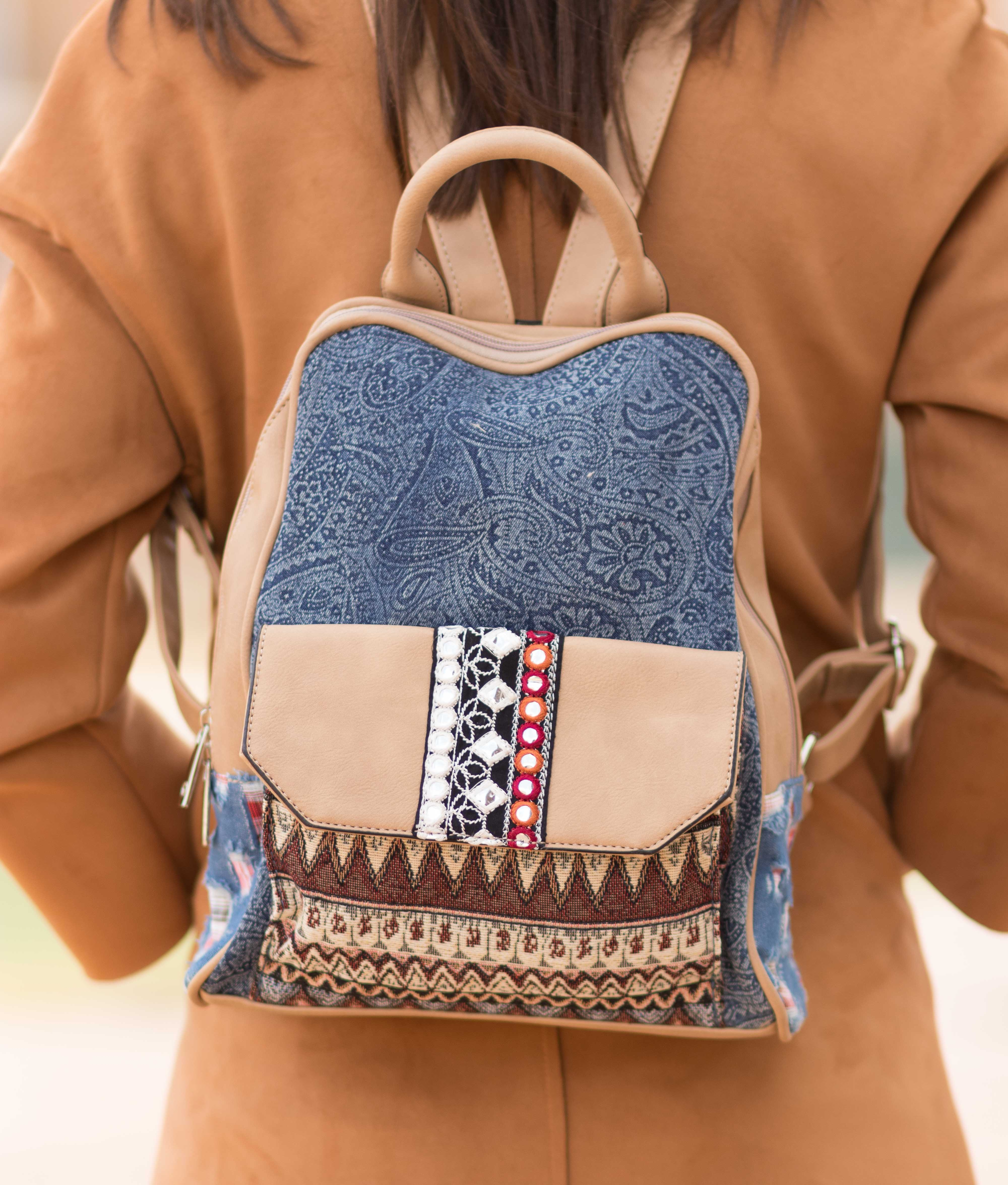 Backpack Babar - Beige
