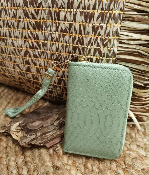 Ilary wallet - green