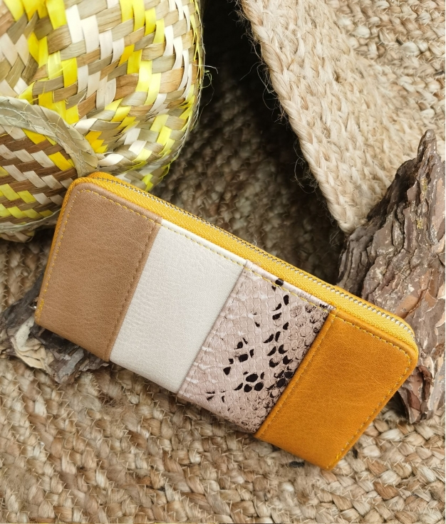 Lily wallet - yellow