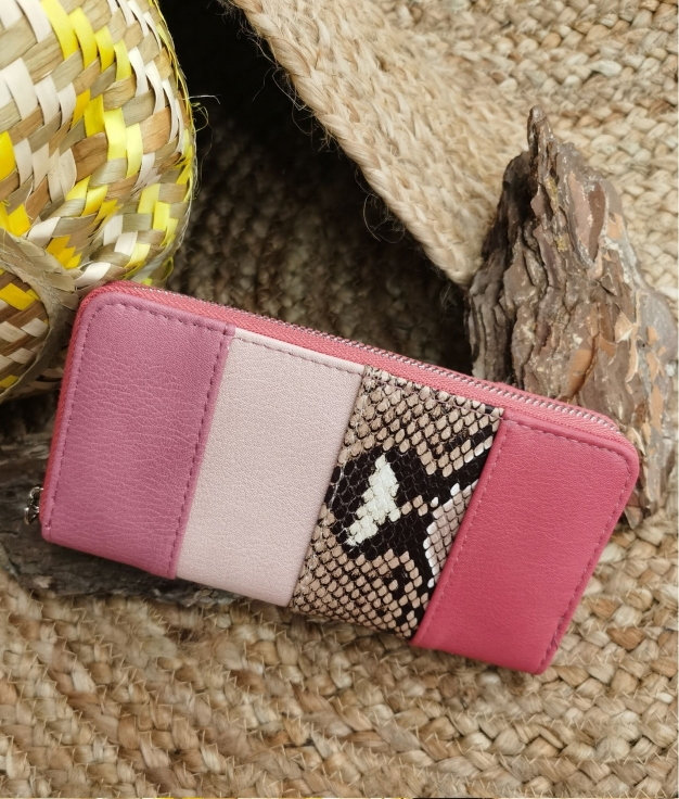 Lily wallet - pink