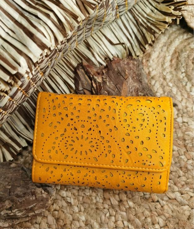 Lala wallet - yellow