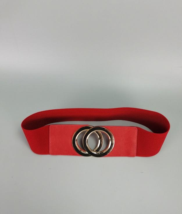 Cinturón Martina - rojo