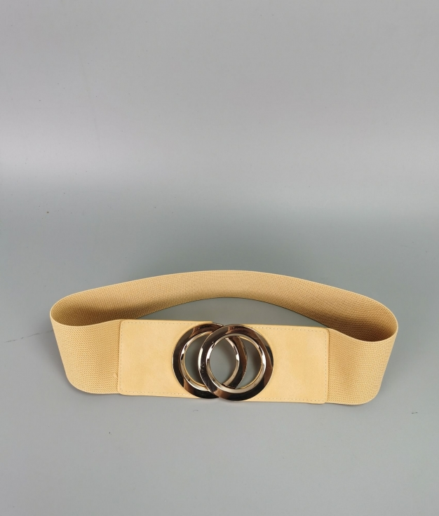 Cinturón Martina - amarillo