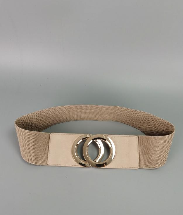Cinturón Martina - beige