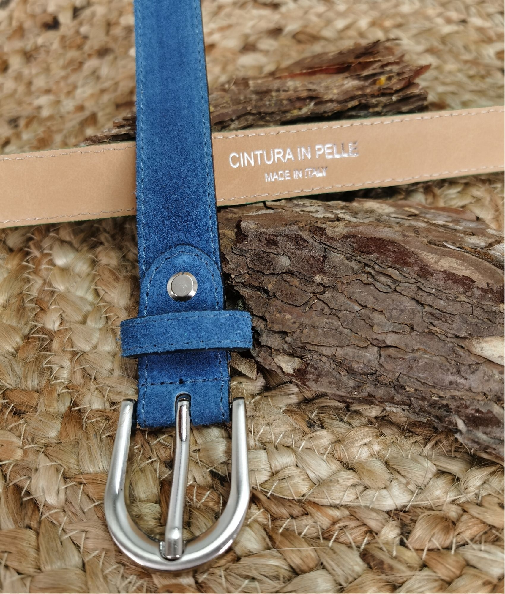Belt Emanuela - blue