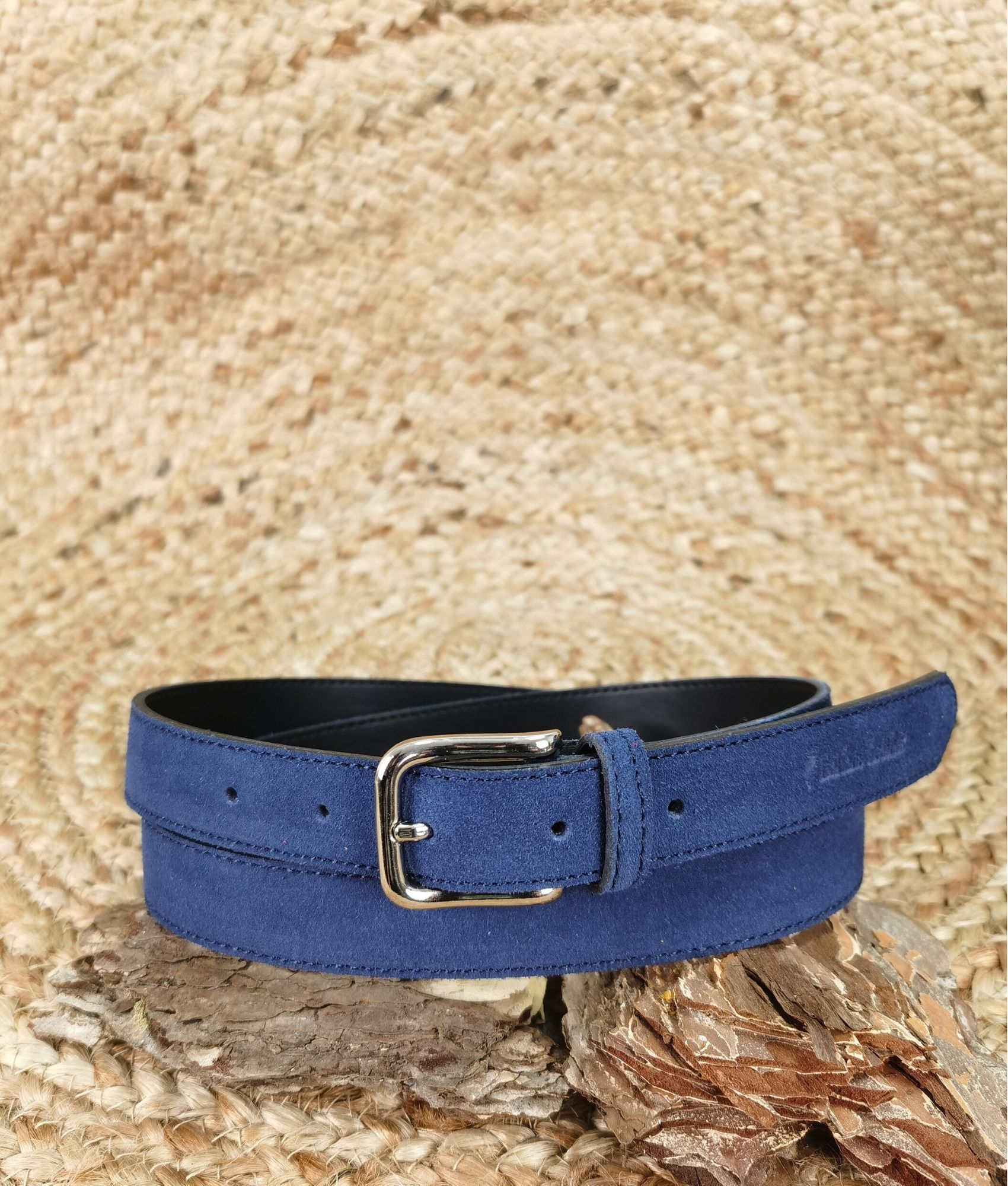 Belt Emanuela - navy blue