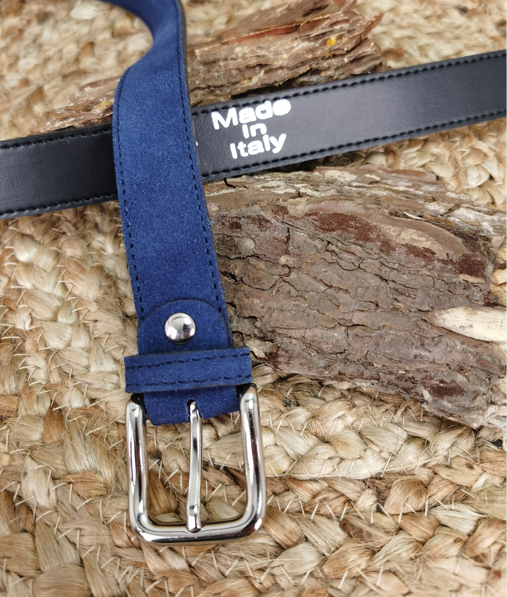 Cinturón Emanuela - azul marino