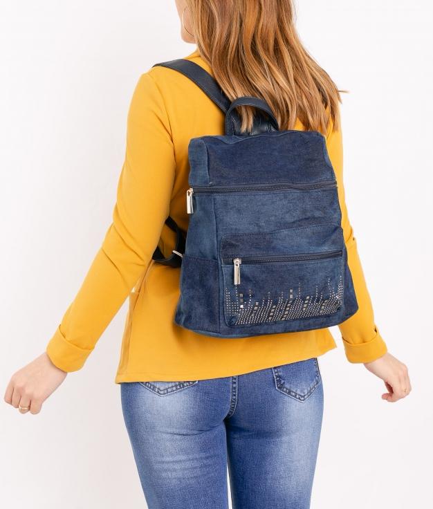 Backpack Ainara - Dark Denim