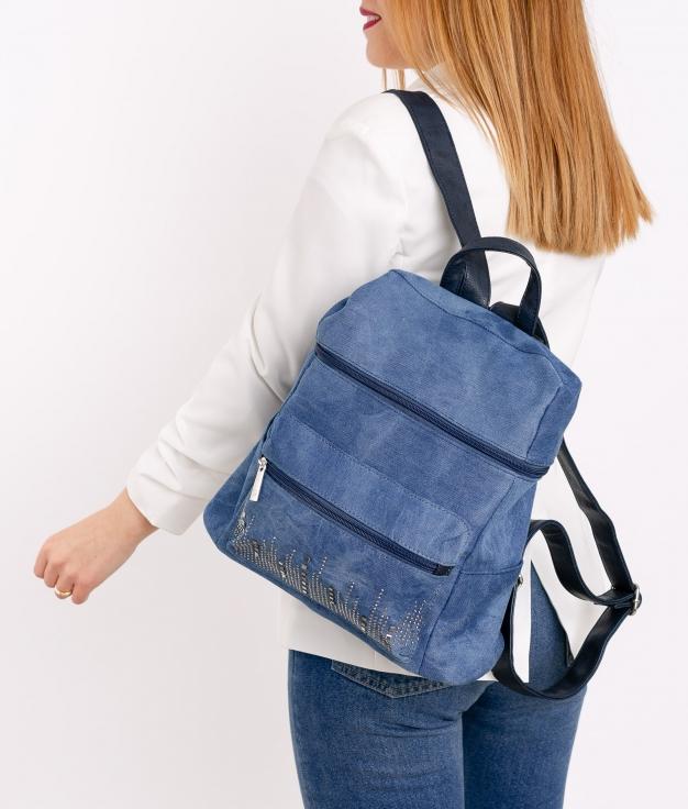 Backpack Ainara - Light Denim
