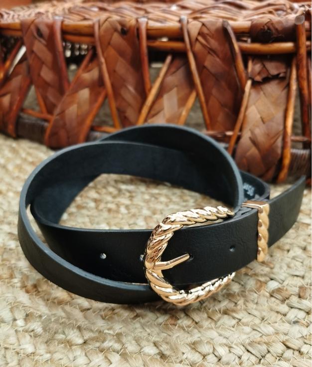 Cinturón Valentina - negro