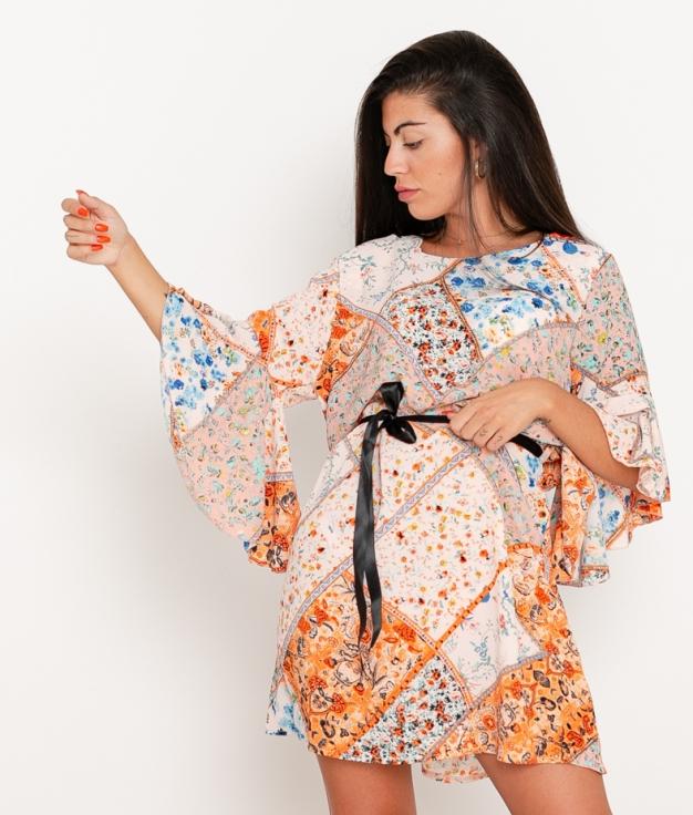 Vestido Agapita - Naranja