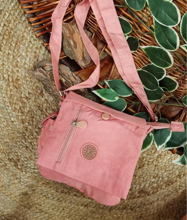 Fantasia bolsa de ombro - rosa
