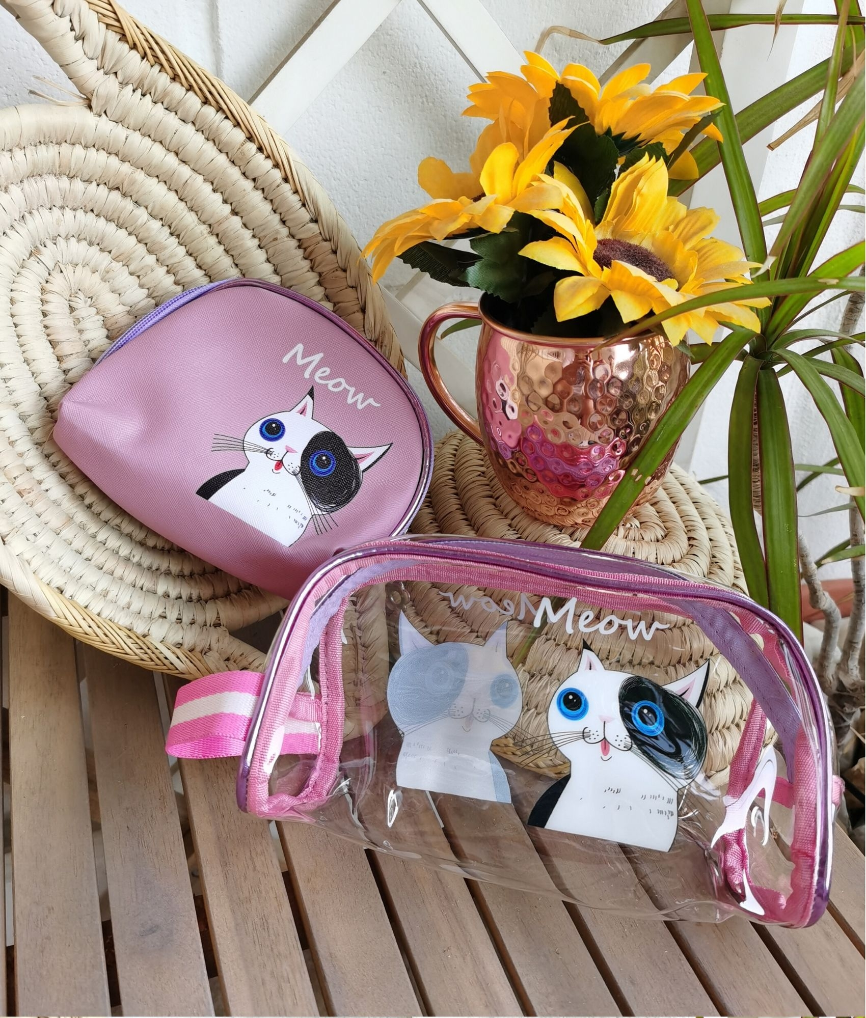Mua toiletry bag - cat