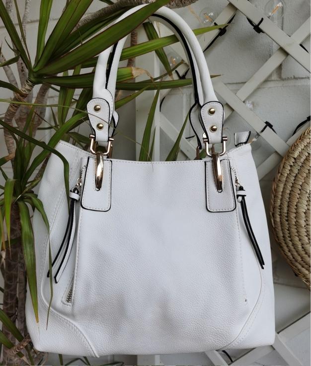 Bilibili bag - white